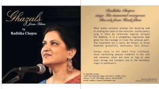 Zaraa Si Aahat Hoti Hai : Kaifi Azmi : Dr. Radhika Chopra : Mo Verjee Archives®