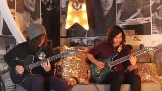 Ibanez Prestige: Mario and Erick from CHON play