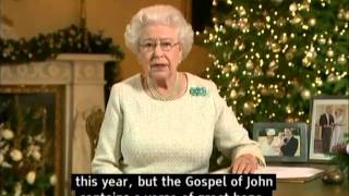 The Queen's Christmas Message 2015 (with subtitles)  Elizabeth II speaks to the Commonwealth