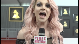 Courtney Act interviews your favorite celebs at the 2017 GRAMMYs!