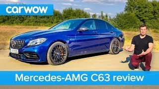 Mercedes-AMG C63 S 2019 review - see how quick it can get to 60mph   carwow