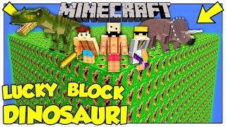 LA SFIDA DEI LUCKY BLOCK GIGANTI DEI DINOSAURI Minecraft ITA