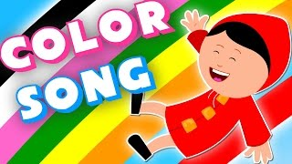 Colors song | Teach color to babies | Kids songs