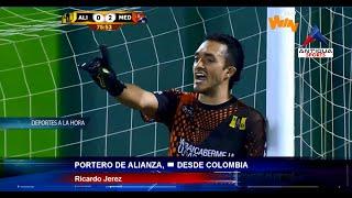 Ricardo Jerez no quería atajar un penal en contra de Alianza Petrolera