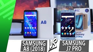 Samsung A8 2018 VS Samsung J7 Pro | Enfrentamiento | Review | Unboxing