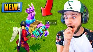 NEW RAREST CHEST *FOUND* in Fortnite: Battle Royale! (LLAMA LOOT)