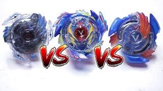 BEYBLADE BURST BATTLE | God Valkyrie VS Victory Valkyrie VS Valtryek V2 (EPIC BATTLE ROYAL)