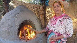 من قلب جبال الريف ( تروال ) اقدم لكم الخبز المغربي التقليدي