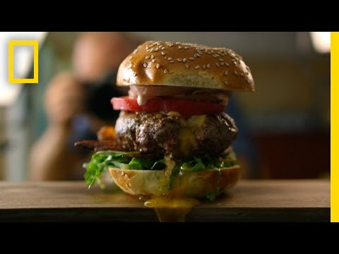 Making a PornBurger With Mathew Ramsey | National Geographic