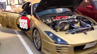 Top Secret V12 Toyota Supra [ start and revs ] !!!