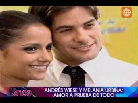 A las Once Andrés Wiese y Melania Urbina amor a prueba de todo 17 072012