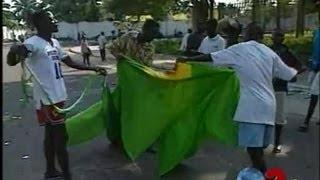 Pillage résidence Mobutu