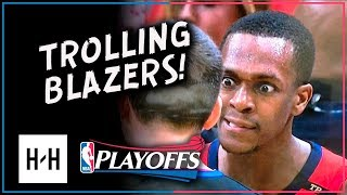 Rajon Rondo Full Game 4 Highlights vs Trail Blazers 2018 Playoffs - 7 Pts, 7 Reb, SICK 16 Assists!
