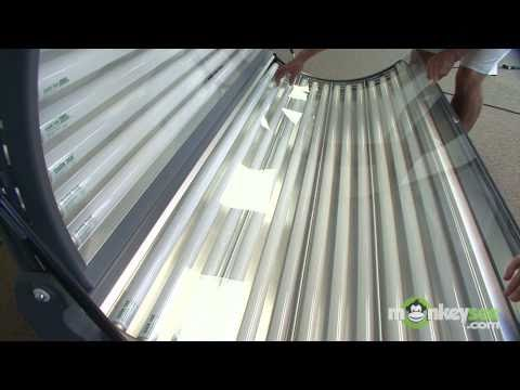 How to clean your home tanning bed