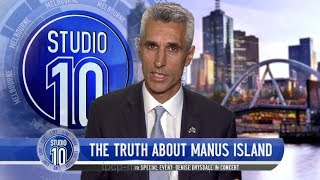 The Truth About Manus Island | Studio 10