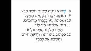 Aleinu (Sung: Medium) - Full Reform Version - Prayer Karaoke