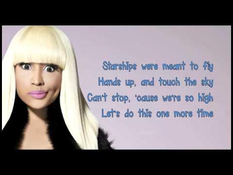 Xxx Mp4 Nicki Minaj Starships Lyrics Clean Version 3gp Sex