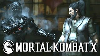 Mortal Kombat X: Bo Rai Cho vs SMOKE - Gameplay w/ Fatality, Brutality and Xray!