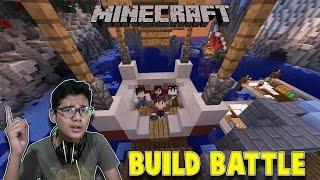 BUILD BATTLE WITH FIKUN MASTER OF REDSTONE - Minecraft Indonesia