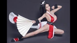 """【社会奇闻】王者女神复活?不知火舞性感cosplay激情上演""""眉色飞舞"""""""