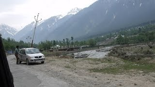 Awesome Journey To Sonamarg - Last Few Miles HD Video