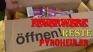 Feuerwerk Einkauf Reste 2013/2014 - Unboxing Umzugkartons Part 1