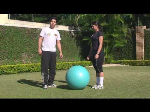 Treinamento Funcional na bola