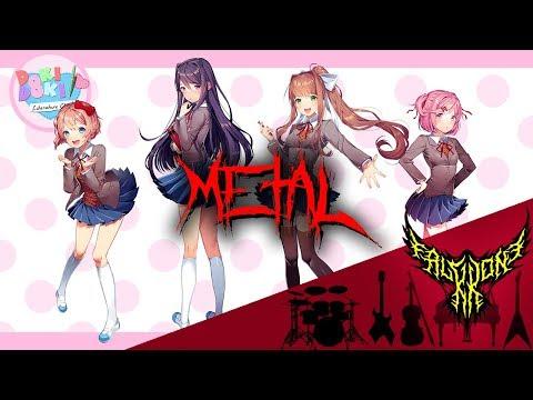 Doki Doki Literature Club! - Your Reality (feat. Rena) 【Intense Symphonic Metal Cover】