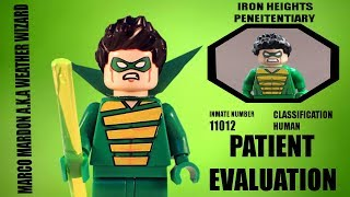 LEGO Patient Evaluation - Session #1 Marco Mardon AKA Weather Wizard