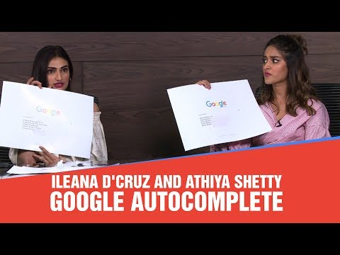 Xxx Mp4 Ileana D Cruz And Athiya Shetty Answer Google S Most Asked Question With A Twist 3gp Sex