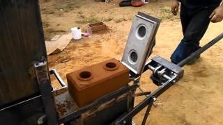 Prueba Maquina de bloque ecologico Eco Jamys 300 Manual