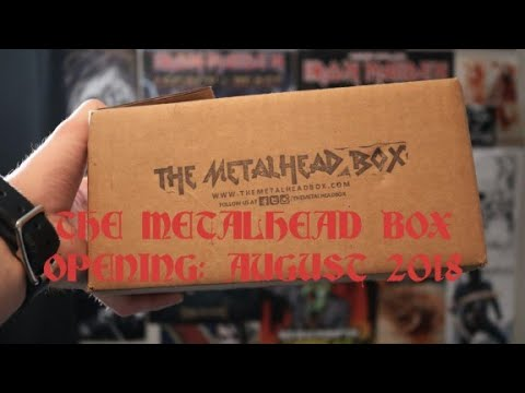 The Metalhead Box Opening: August 2018