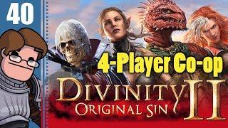 Let's Play Divinity: Original Sin 2 Four Player Co-op Part 40 - Magister Reimond