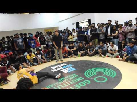 Bboy show-rez vs Bboy Pogo (FNS Crew Mumbai) Top 32 | Freeze, Bangalore