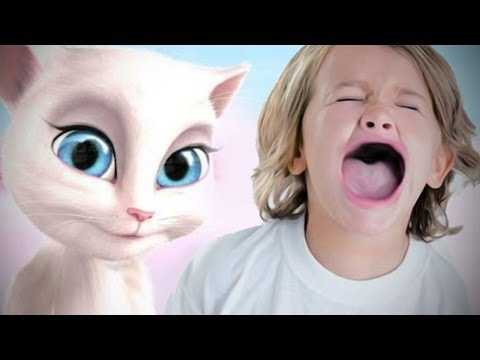Xxx Mp4 GAME BANNED FROM KIDS Talking Angela 3gp Sex