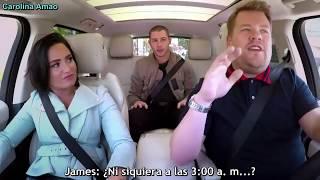 Demi Lovato & Nick Jonas Carpool Karaoke「Sub Español」P. 1 | By Carolina Amao
