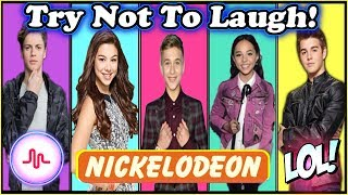 Try Not To Laugh Challenge Nickelodeon Stars Edition | Funny Nickelodeon Stars Musical.ly 2017