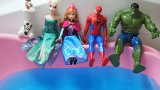 5 Super Hero Jumping on the Water Bed | TOP Hit Nursery Rhymes Compilation & MORE SONG