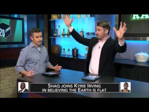 120 Sports reacts to Shaq & Flat Earth host triggered Mark Sargent ✅