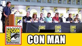 CON MAN Comic Con 2016 Panel - Nathan Fillion, Alan Tudyk, Felicia Day