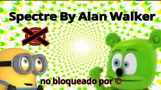 Gummy Bear And Minions Dancing Spectre By Alan Walker - Osito Gominola Y Minions