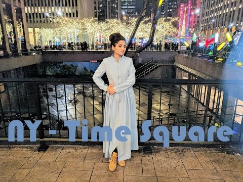 Travel Vlog New York City Time Square Fictionally Flawless