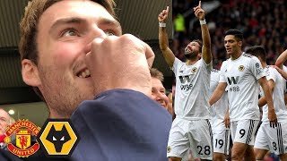 UNDERCOVER IN THE HOME END! Man Utd Vs Wolves Away Day Vlog!