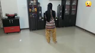 indian girl dance in home...