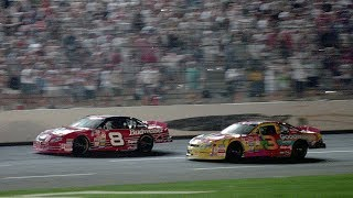 Dale Earnhardt Jr. wins the 2000 All-Star Race as a rookie