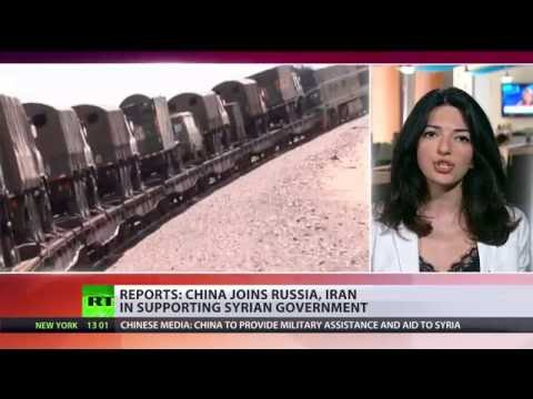 watch China 'to provide aid, enhance military training' in Syria – top army official