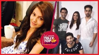 Rubina Dilaik Pampers Herself | Tashan-E-Ishq's Star Cast Reunites