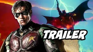 Titans Official Trailer - Robin, Raven, Starfire, Beast Boy Explained