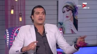 """فرحة الفنان """"مصطفى أبو سريع"""" بعمره الذي فاجيء به ست الحسن"""