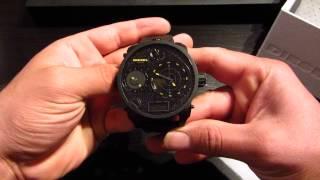 Diesel Mr. Daddy DZ7296  (Yellow Radar) Men's Watch